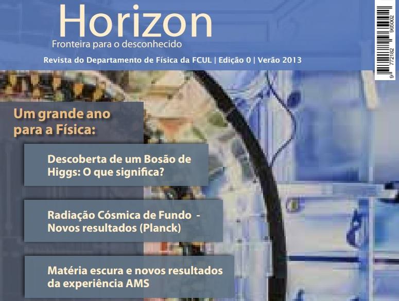 Conheça a Horizon, uma revista de divulgação científica gratuita e em português