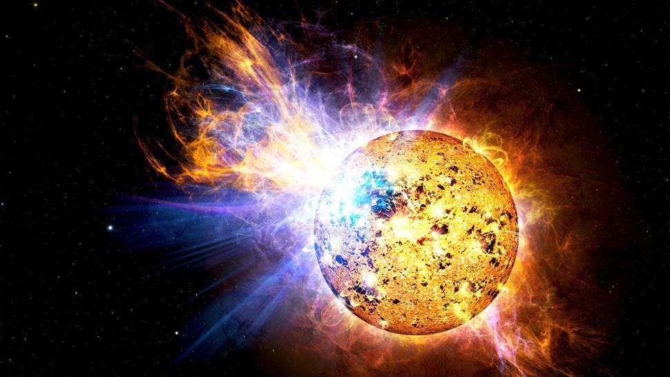 Conheça a estrela capaz de ficar 7 vezes mais quente e 15 vezes mais brilhante em 160 segundos