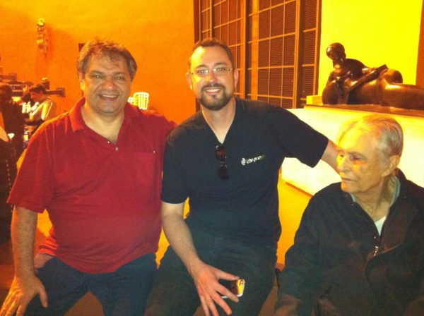 Mustafá Ali Kanso, Gustavo Brasman e André Carneiro (TrekCon, 2013)