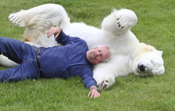 Mark+Dumas+and+polar+bear