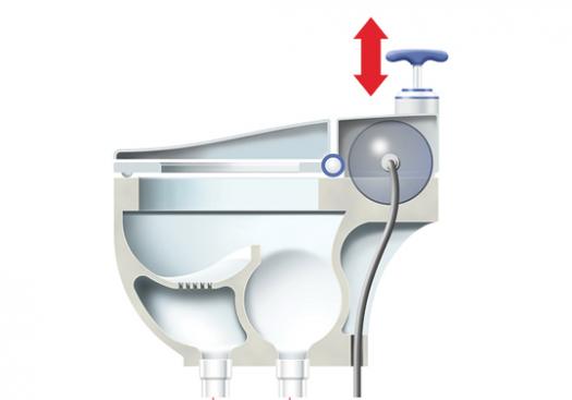 Vaso sanitário produz água, adubo e energia