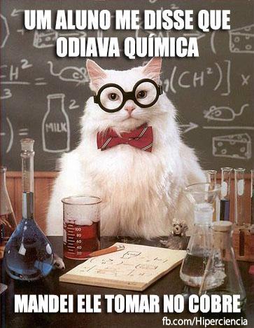 gato quimico quimica