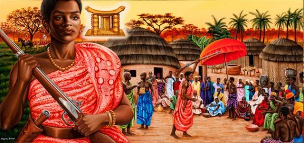 Líderes femininas Yaa Asantewaa