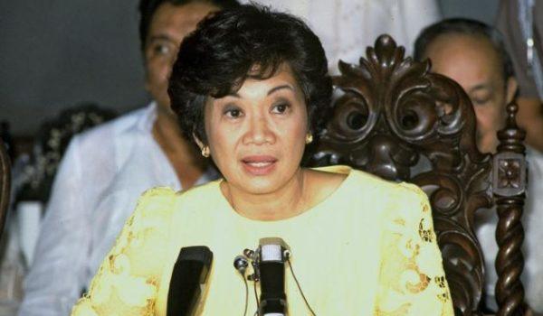 Corazon Aquino líderes femininas