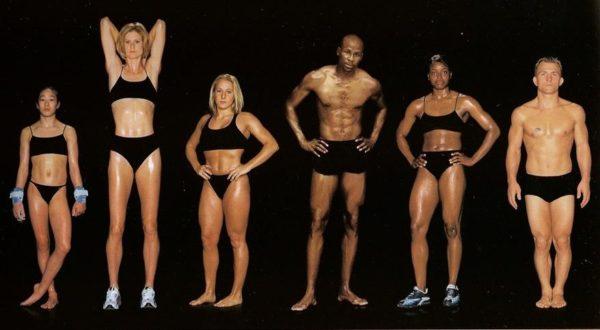 Tabitha Yim, ginasta, 1,42 m e 39 kg / Amy Acuff, saltadora em altura, 1,88 m e 66 kg / Jennifer Parilla, ginasta de trampolim, 1,55 m e 54 kg / Charles Austin, saltador em altura, 1,84 m e 77 kg / Stacey Bowers, triplista, 1,68 m e 59 kg / Cary Kolat, lutador greco-romano, 1,65 m e 63 kg