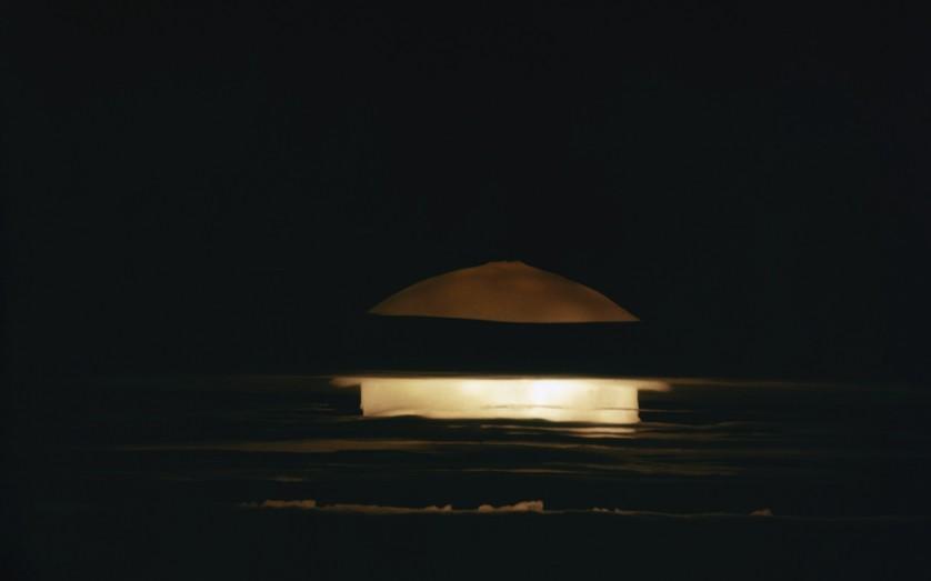 H-bomb test at the Bikini Atoll