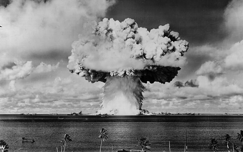 """""""Baker Day"""" Blast at Bikini Island"""