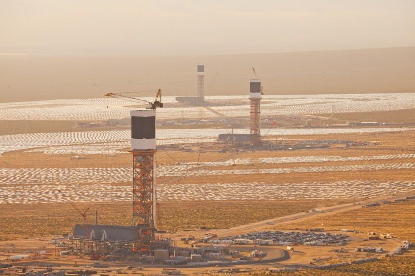Usina de energia solar maior do mundo