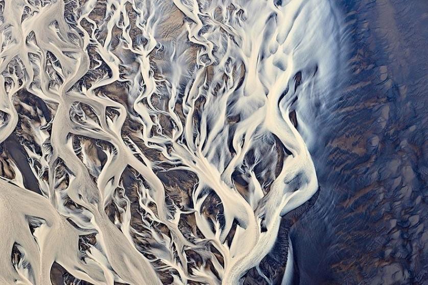 Foto aérea na Islândia, De Emmanuel Coupe