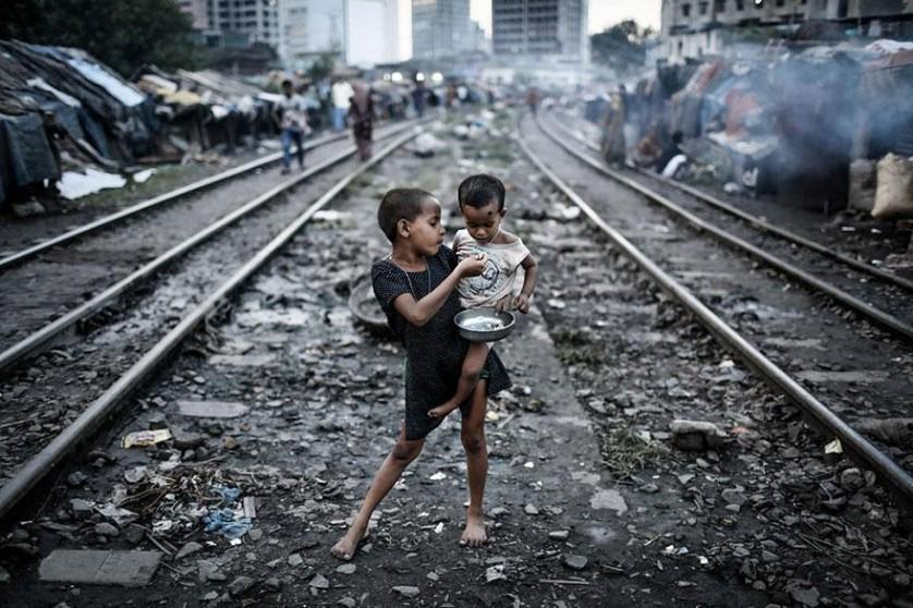 """Categoria meio ambiente: """"Vida e linha"""", por Turjoy Chowdhury, Bangladesh"""