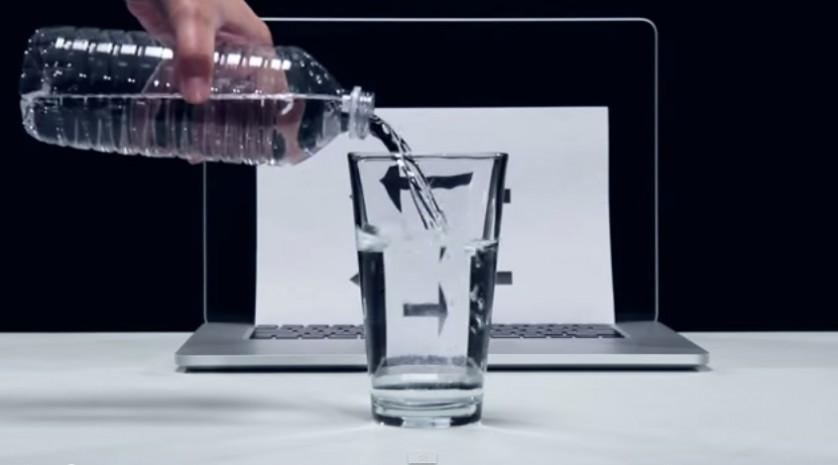 Truques com água ilusão