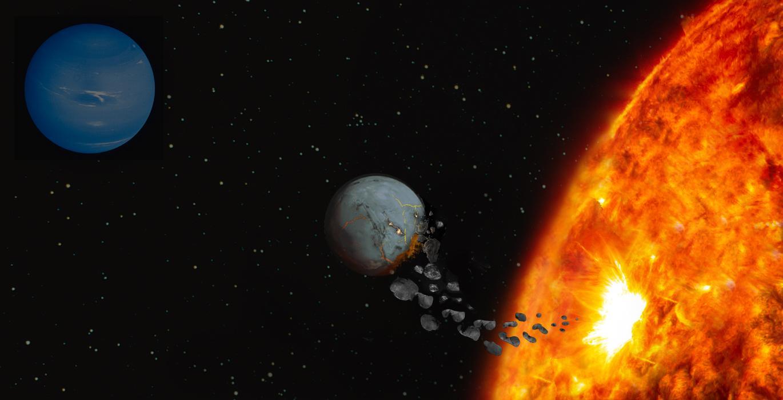 Estrelas Como Nosso Sol Podem Comer Frequentemente Planetas Como A Terra on Modelo Do Sistema Solar