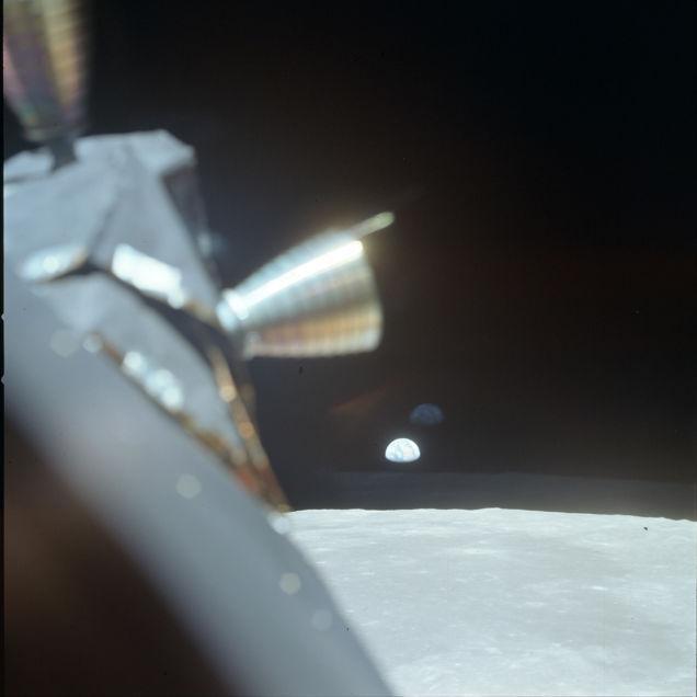 primeiro pouso na lua 16