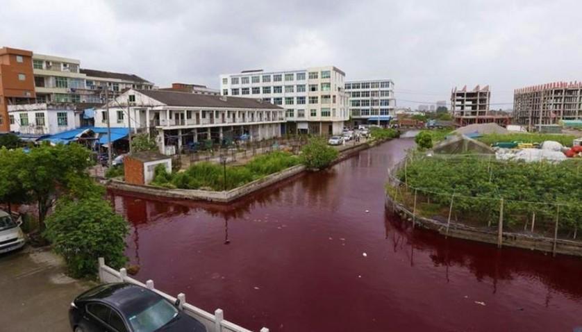 rio vermelho sangue china 1