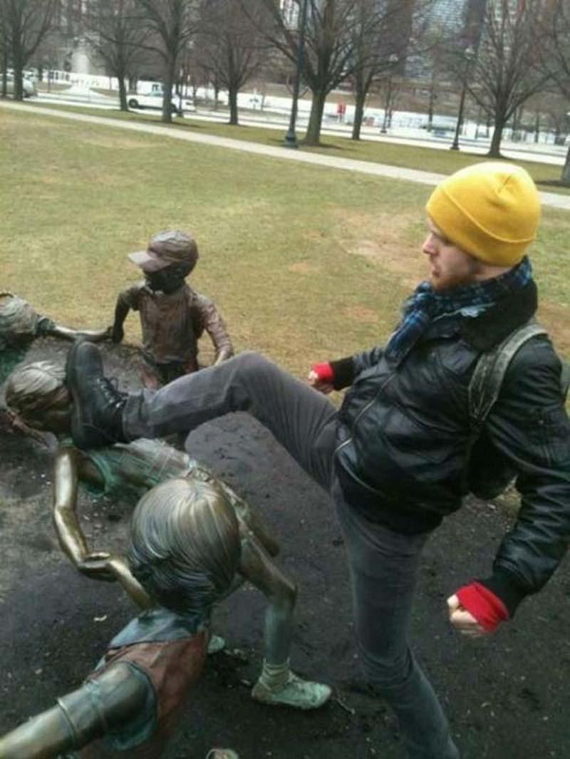 estatuas fotos engracadas 14