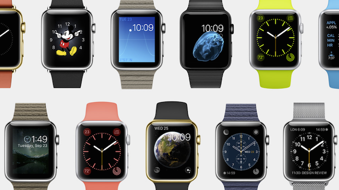 apple watch relógio inteligente