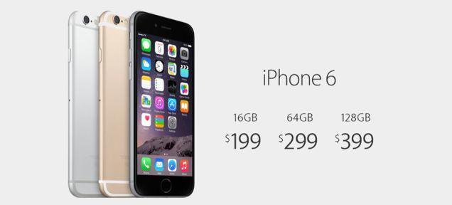 iphone 6 preço
