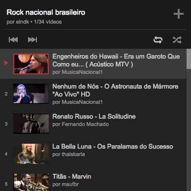 ouvir musica youtube