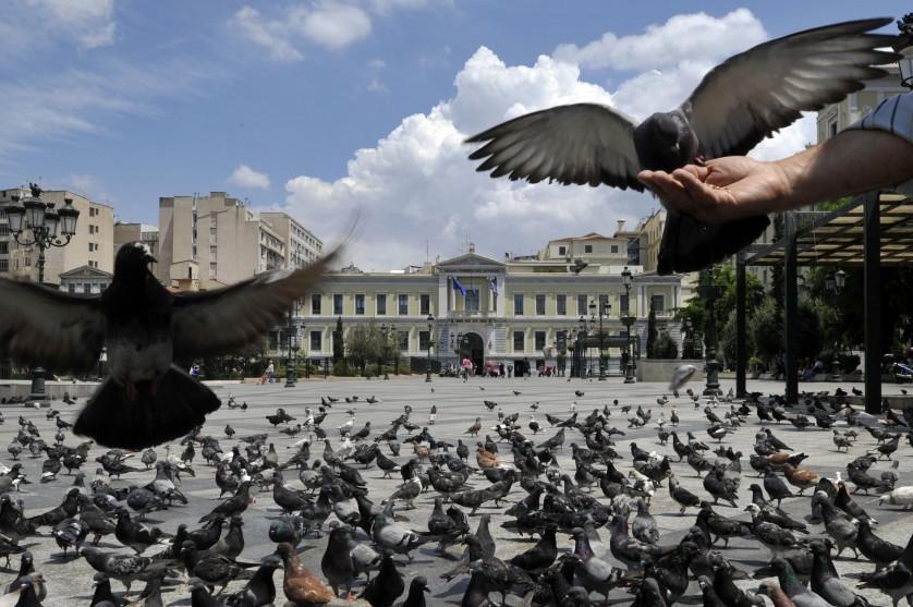 TOPSHOTS-GREECE-FINANCE-ECONOMY-BANK