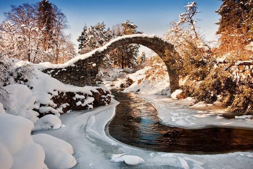 Carrbridge, na Escócia pontes