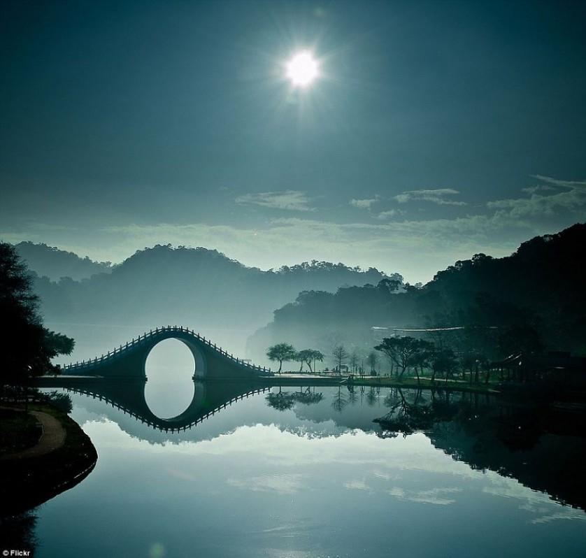 Moon Bridge Taipei Taiwan