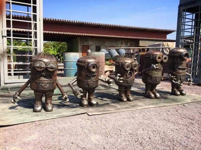 esculturas de sucata 6