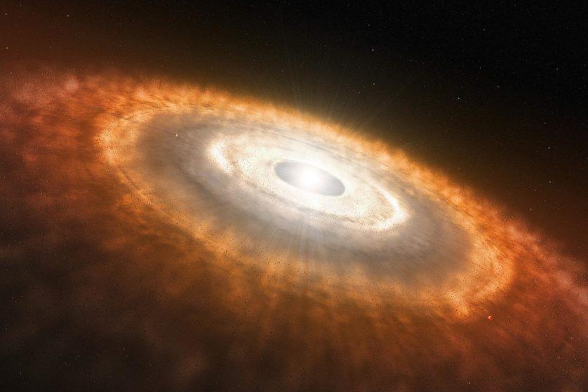 planeta em formacao