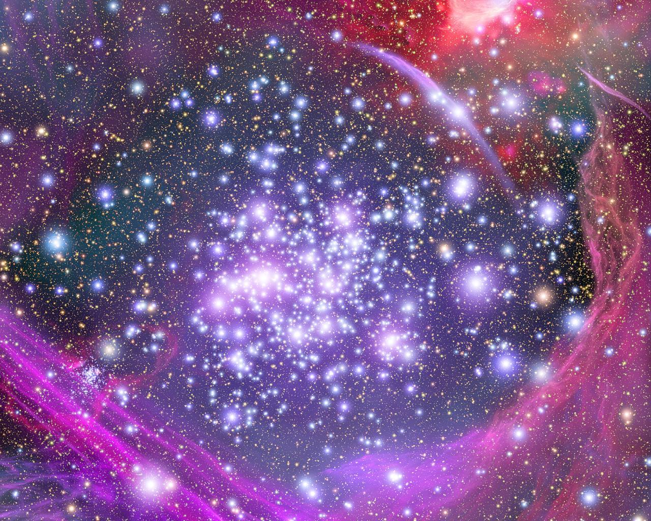 Várias estrelas do universo estão flutuando entre as galáxias