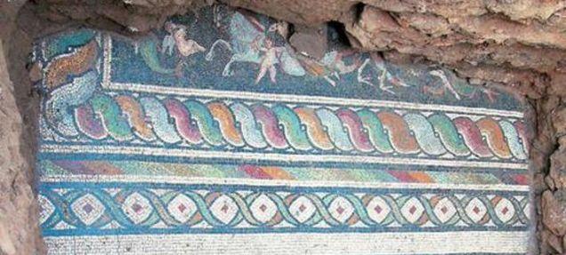 mosaicos grécia descoberta arqueologia 01