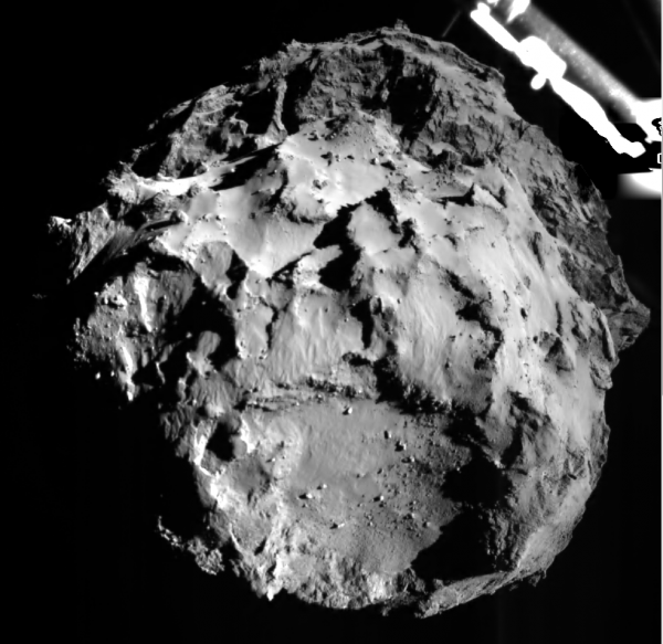 67P/Churyumov-Gerasimenko visto do Philae