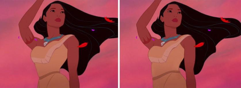 princesas da disney cinturas irreais (3)