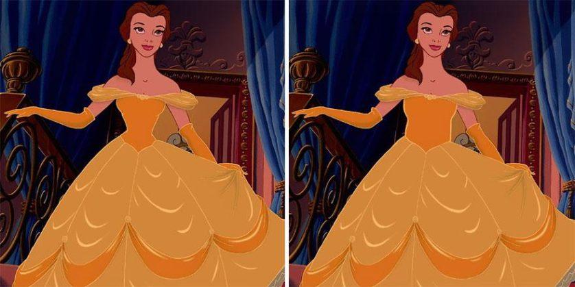 princesas da disney cinturas irreais (5)