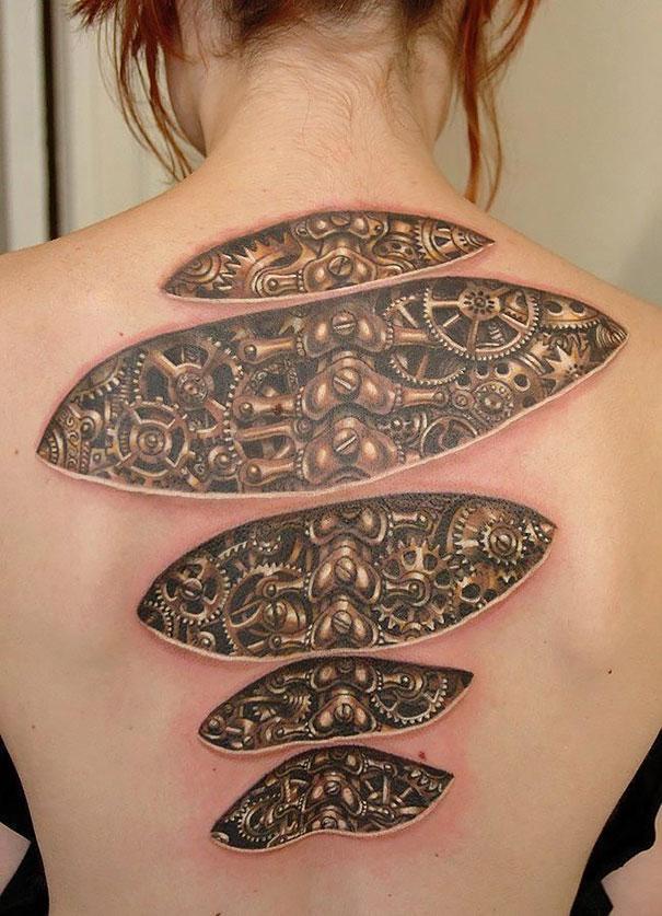 tatuagens 3D exemplos 13