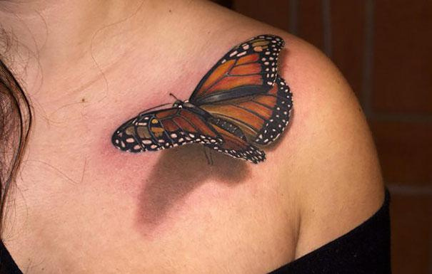 tatuagens 3D exemplos