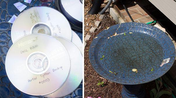 25 ideias para reciclar aquele monte de cds que voc n o for Showpiece from waste material