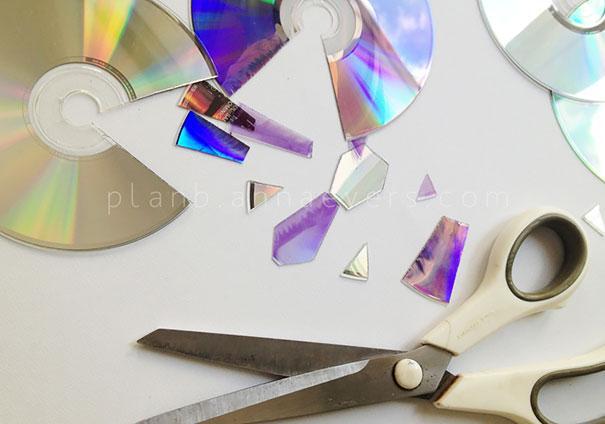 ideias reciclagem cds 14