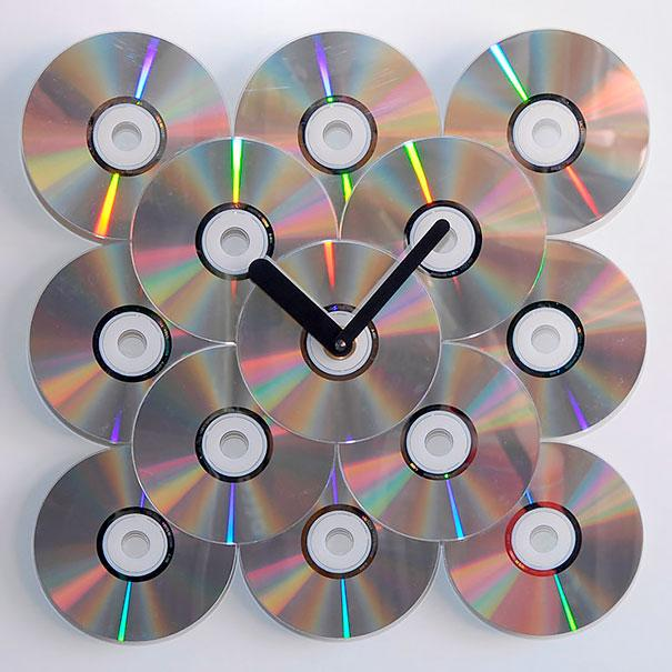 ideias reciclagem cds 17