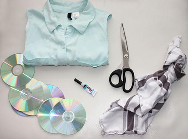 ideias reciclagem cds 21