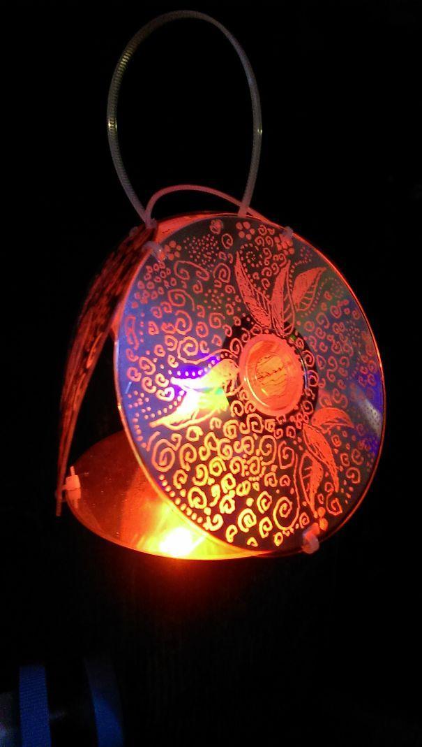 ideias reciclagem cds 24
