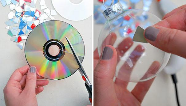 ideias reciclagem cds 8