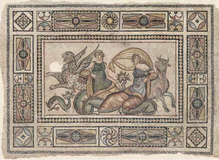 mosaicos gregos romanos antigos Turquia (1)