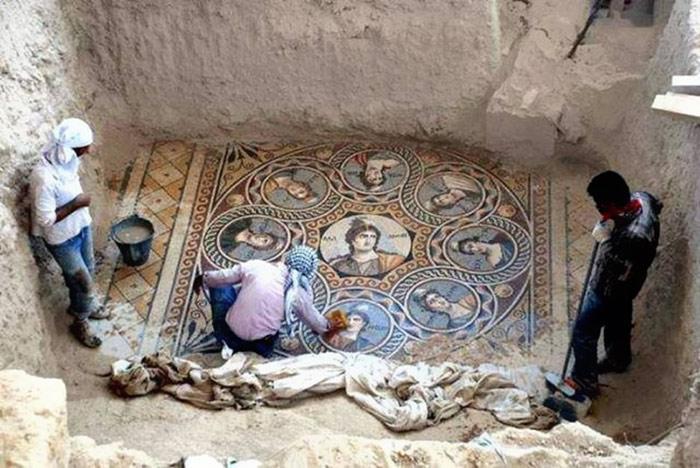 mosaicos gregos romanos antigos Turquia (4)
