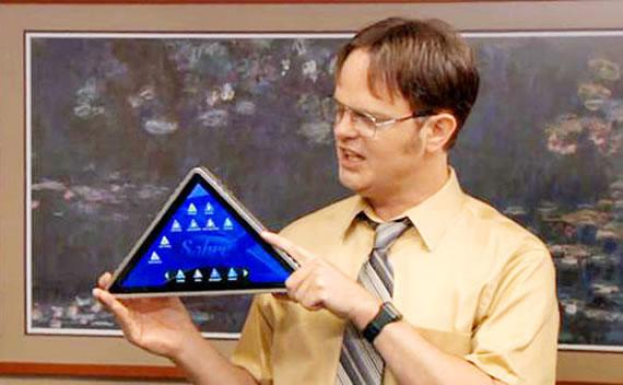 tablet triangular