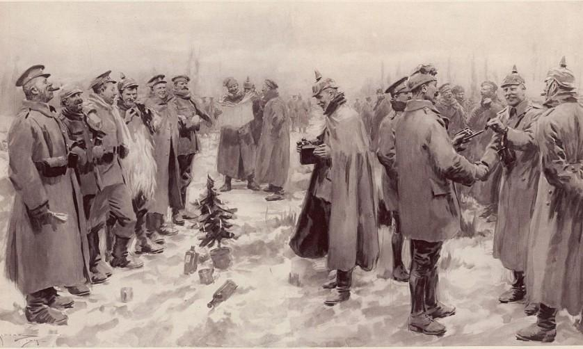 A verdadeira história por trás da trégua na Primeira Guerra Mundial no Natal de 1914