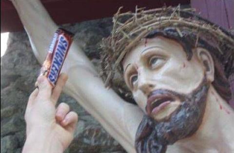 blasfemia jesus