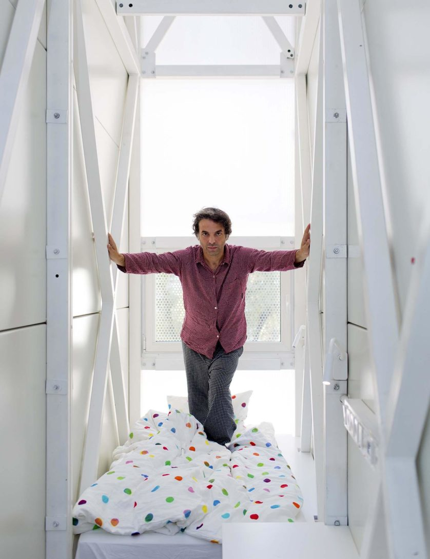 The Keret House in Warsaw.