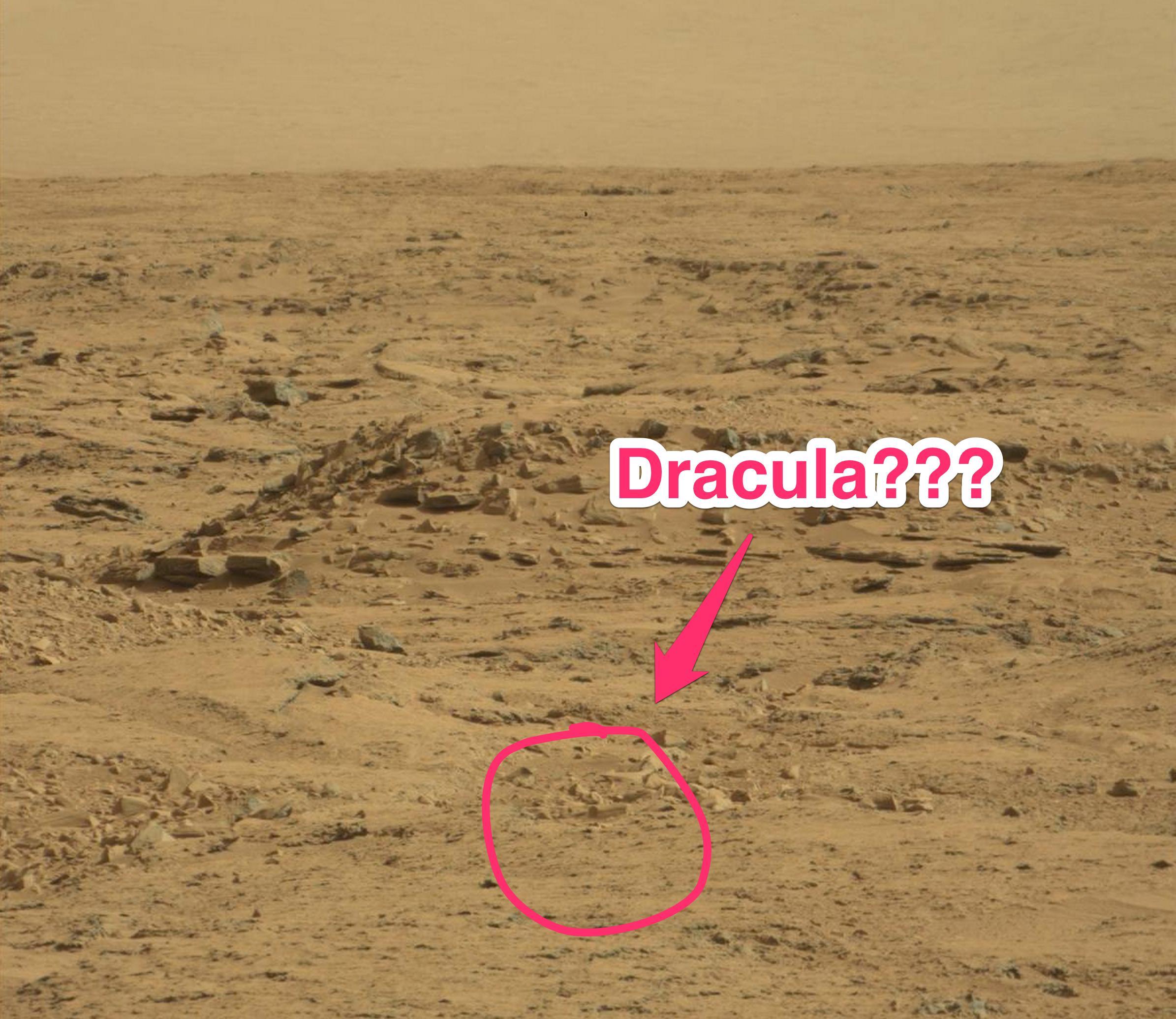 Essa foto da NASA realmente mostra um CAIXÃO em Marte?