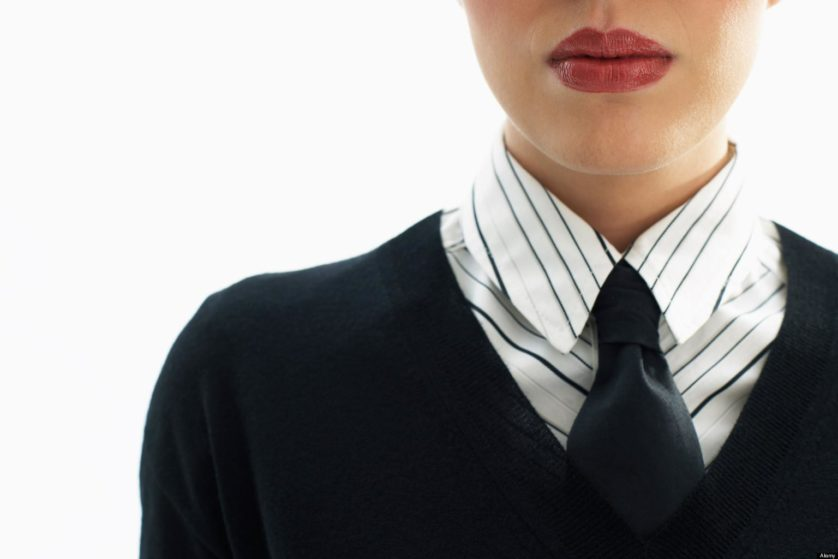 Close Up of Businesswoman