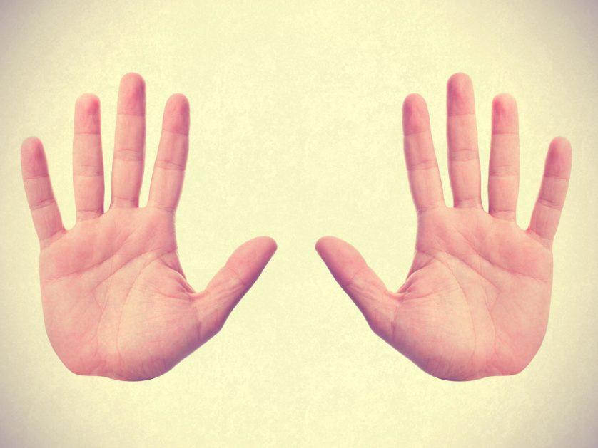 dedos das maos e caracteristicas psicologicas