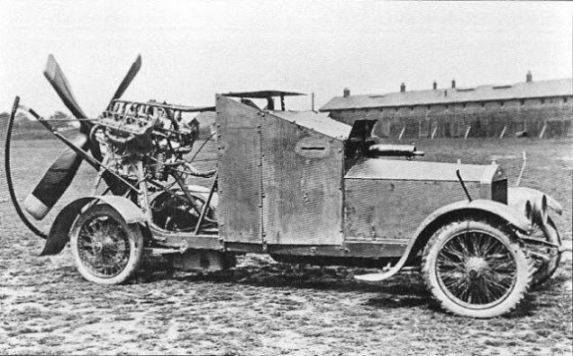 carro blindado primeira guerra mundial